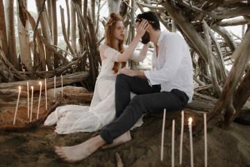 Driftwood & Seagrass, Seaside Boho Wedding Inspiration | Monica Leggio 8