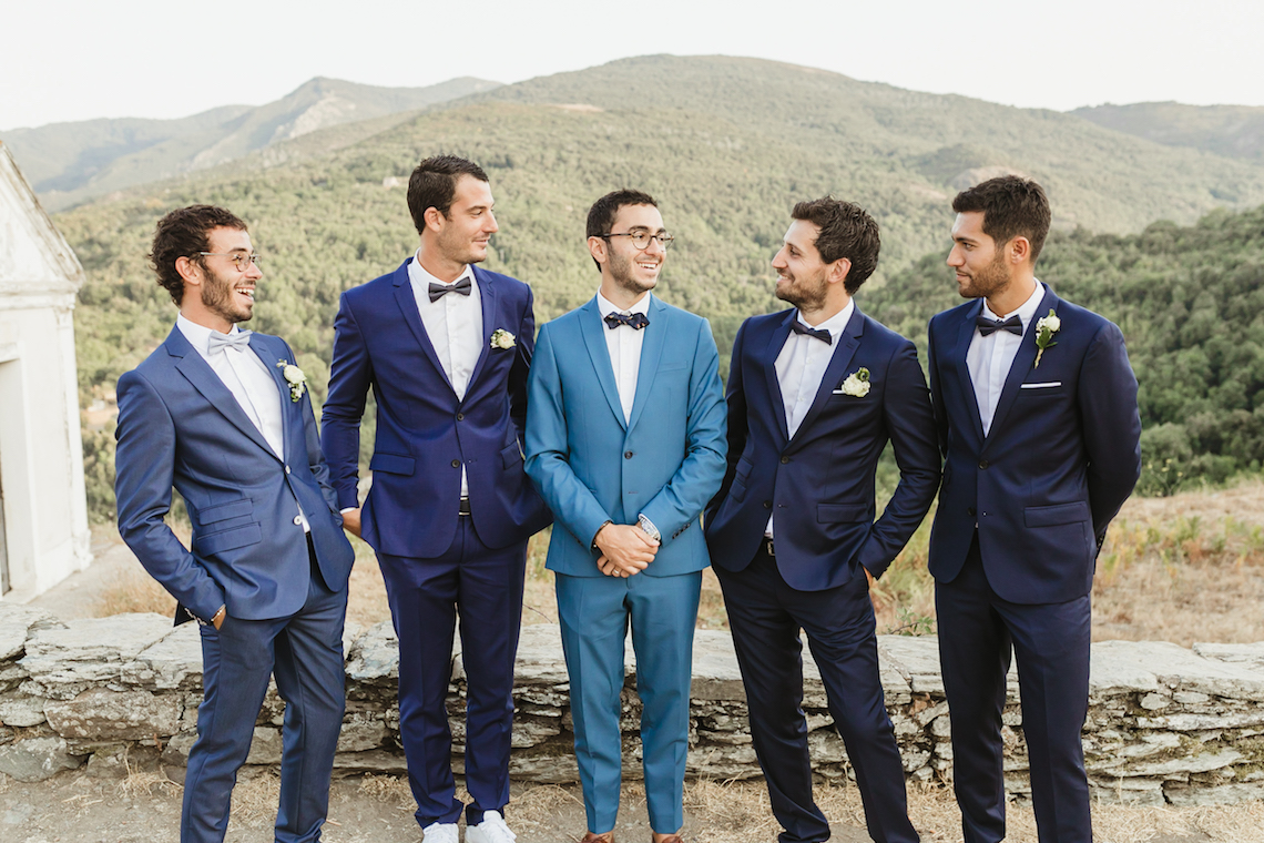 Epic Fashion Filled Wedding Weekend in Corsica | Magdalena Studios 54