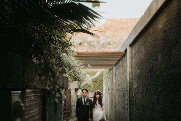 Modern & Hip Bali Wedding Featuring Sparklers & Flower Crowns | Iluminen Photography 17