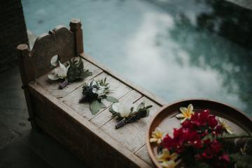 Modern & Hip Bali Wedding Featuring Sparklers & Flower Crowns | Iluminen Photography 2