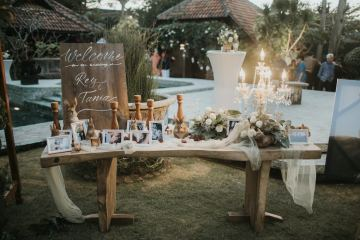 Modern & Hip Bali Wedding Featuring Sparklers & Flower Crowns | Iluminen Photography 20