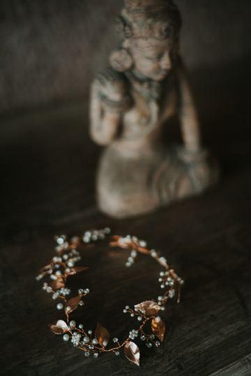 Modern & Hip Bali Wedding Featuring Sparklers & Flower Crowns | Iluminen Photography 29