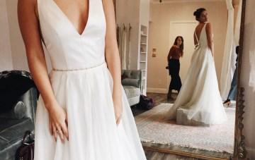 Real Bride Diary: Claire Eliza Goes Wedding Dress Shopping