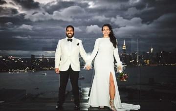 Stylish New York Wedding With Incredible City Views
