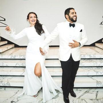 Stylish New York Wedding With Incredible City Views | Bri Johnson Photography 29
