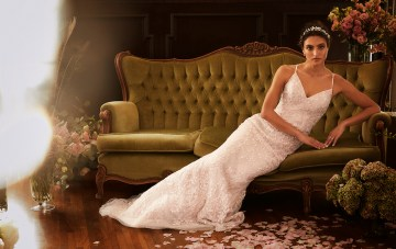 The Romantic Melissa Sweet Wedding Dress Collection From David's Bridal