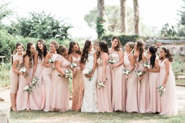 The Ultimate Dream Villa Wedding On The Amalfi Coast | Lace and Luce 13