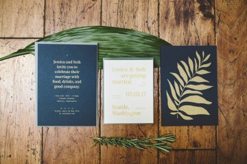 Tropical Urban Rooftop Wedding In Seattle | The Shalom Imaginative 10