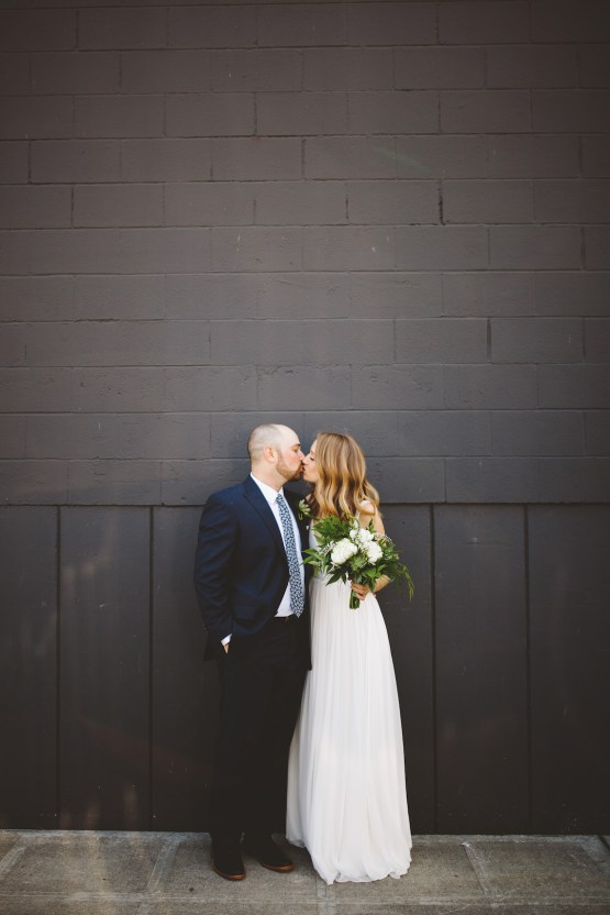 Tropical Urban Rooftop Wedding In Seattle | The Shalom Imaginative 30