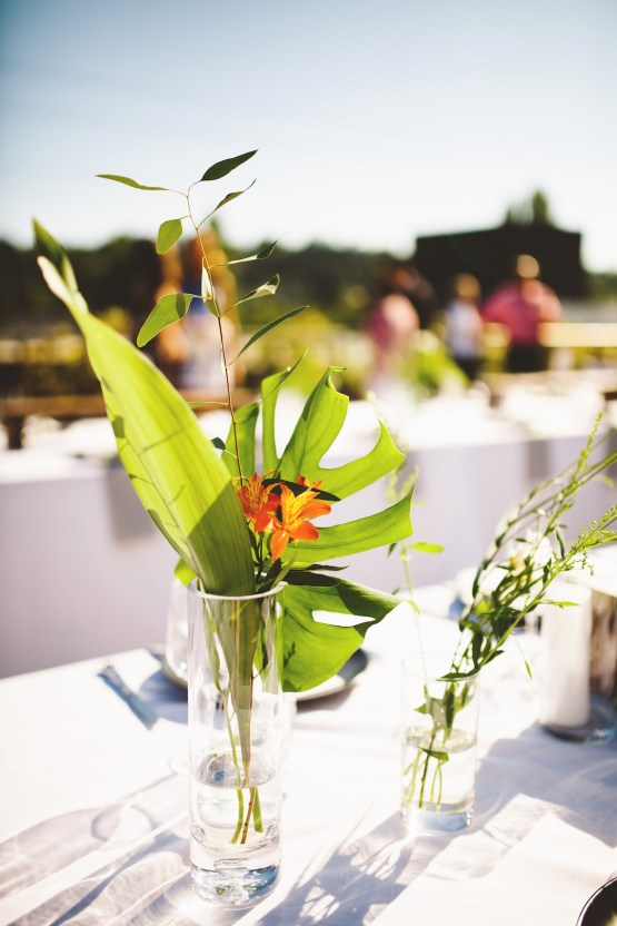 Tropical Urban Rooftop Wedding In Seattle | The Shalom Imaginative 38