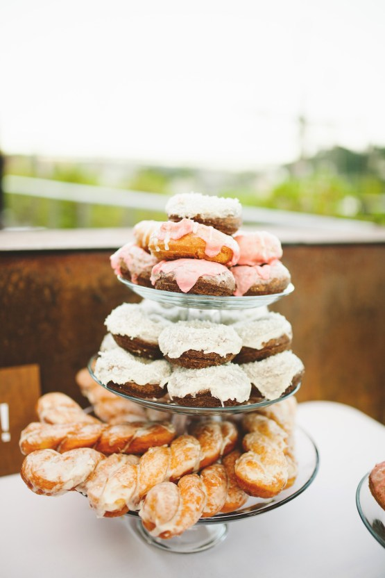 Tropical Urban Rooftop Wedding In Seattle | The Shalom Imaginative 45