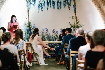 Underground Gallery Wedding In London With Cool, Flashy Signage | Studio 1208 Photography 1