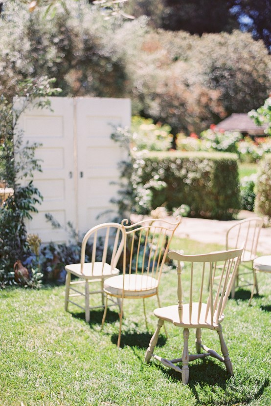 Vintage Lace; Pretty Wedding Ideas Featuring A Crepe Cake & Lamb's Ear Bouquet   Nathalie Cheng 3