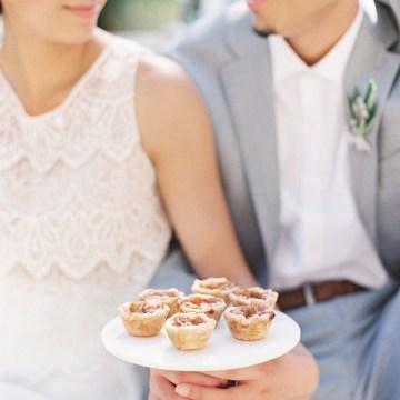 Vintage Lace; Pretty Wedding Ideas Featuring A Crepe Cake & Lamb's Ear Bouquet   Nathalie Cheng 40