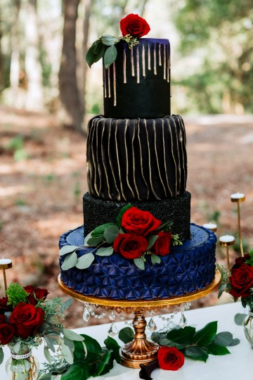 Woodsy Jewel-Toned Wedding Ideas (With A Circle Arch!) | Grind & Press Photography 16