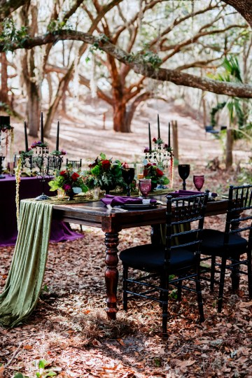 Woodsy Jewel-Toned Wedding Ideas (With A Circle Arch!) | Grind & Press Photography 21