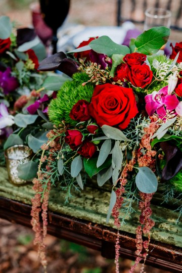 Woodsy Jewel-Toned Wedding Ideas (With A Circle Arch!) | Grind & Press Photography 22