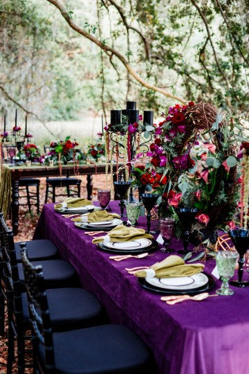 Woodsy Jewel-Toned Wedding Ideas (With A Circle Arch!) | Grind & Press Photography 28