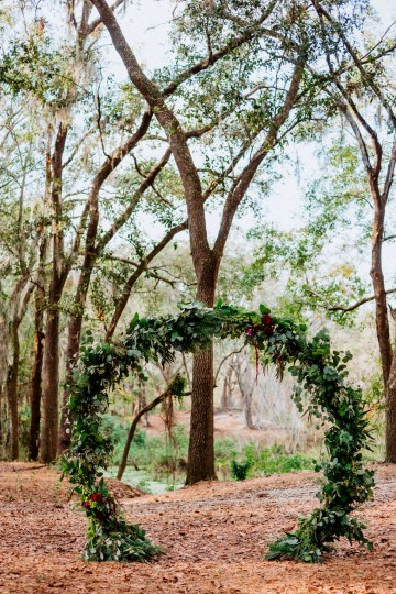 Woodsy Jewel-Toned Wedding Ideas (With A Circle Arch!) | Grind & Press Photography 29