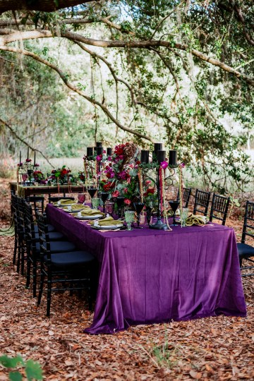 Woodsy Jewel-Toned Wedding Ideas (With A Circle Arch!) | Grind & Press Photography 30