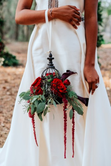 Woodsy Jewel-Toned Wedding Ideas (With A Circle Arch!) | Grind & Press Photography 42