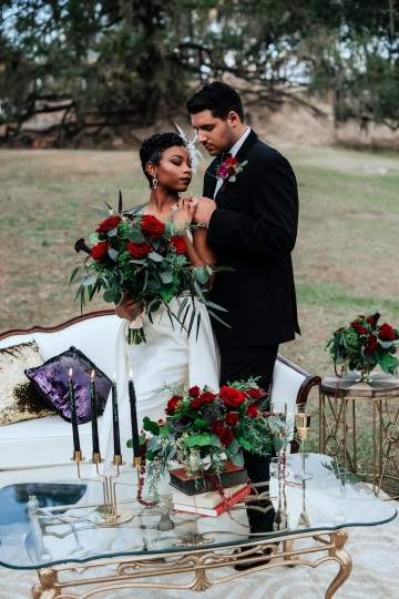 Woodsy Jewel-Toned Wedding Ideas (With A Circle Arch!) | Grind & Press Photography 59