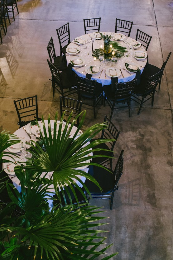 A Designer Bride's Hip Brooklyn Wedding With Tropical Vibes | KM Photo 55