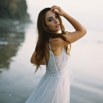 Allure Bridal's Dreamy Boho Wilderly Bride Wedding Dress Collection (And Giveaway!) | Brumwell Wells Photography | Eloise 2