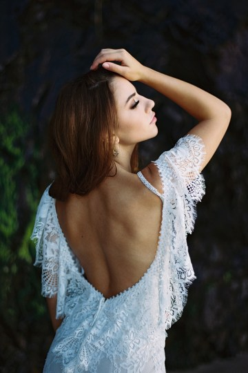 Allure Bridal's Dreamy Boho Wilderly Bride Wedding Dress Collection (And Giveaway!)   Brumwell Wells Photography   Layla 2