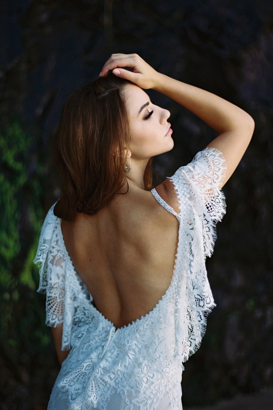 Allure Bridal's Dreamy Boho Wilderly Bride Wedding Dress Collection (And Giveaway!) | Brumwell Wells Photography | Layla 2
