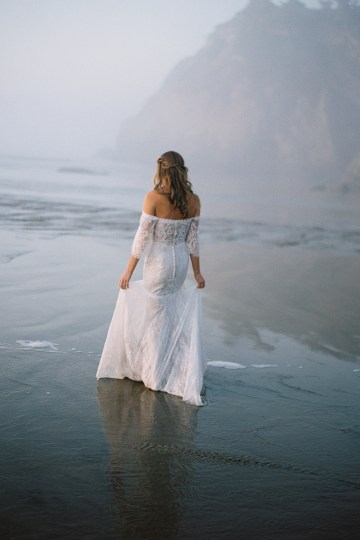 Allure Bridal's Dreamy Boho Wilderly Bride Wedding Dress Collection (And Giveaway!)   Brumwell Wells Photography   Stella 1