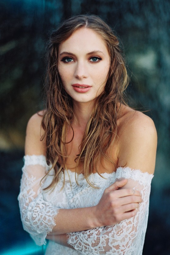Allure Bridal's Dreamy Boho Wilderly Bride Wedding Dress Collection (And Giveaway!) | Brumwell Wells Photography | Stella 3