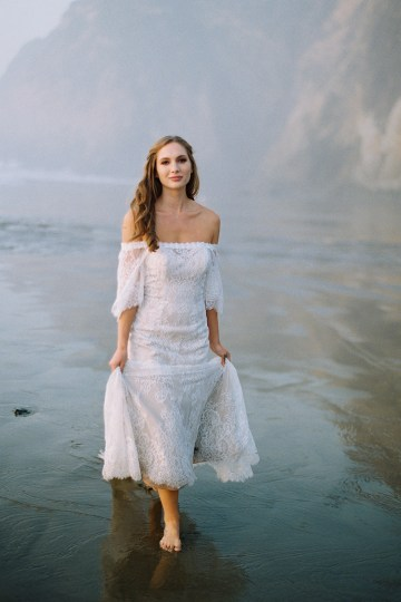 Allure Bridal's Dreamy Boho Wilderly Bride Wedding Dress Collection (And Giveaway!)   Brumwell Wells Photography   Stella 4