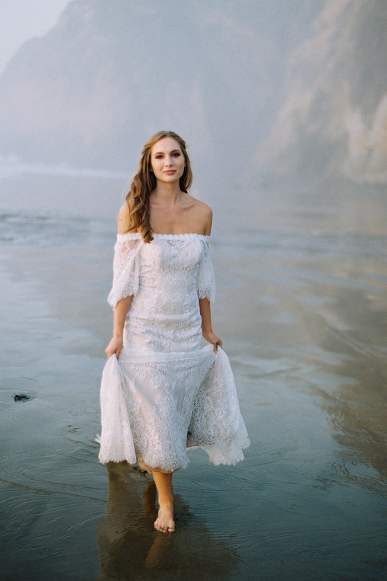 Allure Bridal's Dreamy Boho Wilderly Bride Wedding Dress Collection (And Giveaway!) | Brumwell Wells Photography | Stella 4