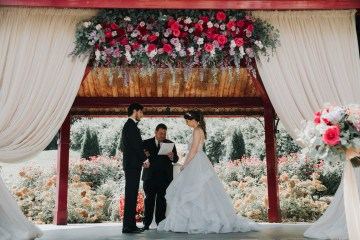 Classic Romance; A Heartfelt Wedding Filled With Red Roses | T & K Photography 11