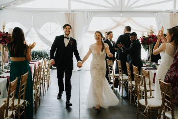 Classic Romance; A Heartfelt Wedding Filled With Red Roses | T & K Photography 19