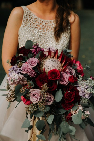 Classic Romance; A Heartfelt Wedding Filled With Red Roses | T & K Photography 33