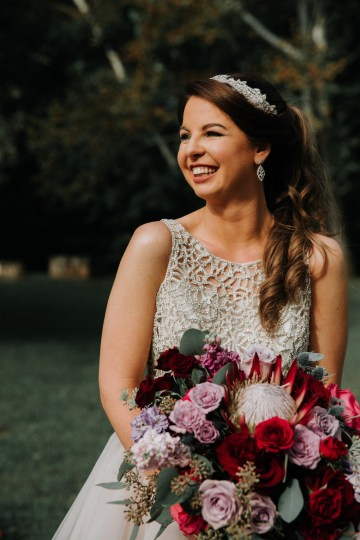 Classic Romance; A Heartfelt Wedding Filled With Red Roses | T & K Photography 34