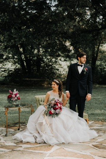 Classic Romance; A Heartfelt Wedding Filled With Red Roses | T & K Photography 38