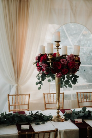 Classic Romance; A Heartfelt Wedding Filled With Red Roses | T & K Photography 49