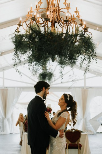 Classic Romance; A Heartfelt Wedding Filled With Red Roses | T & K Photography 75