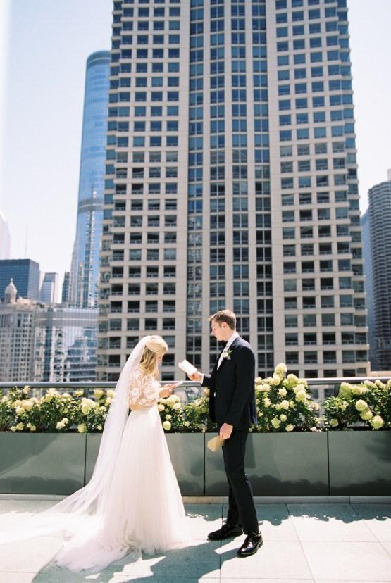 Gorgeous Chicago Ivy Room Wedding   Kristin La Voie Photography 29