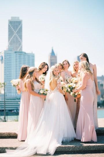 Gorgeous Chicago Ivy Room Wedding | Kristin La Voie Photography 35