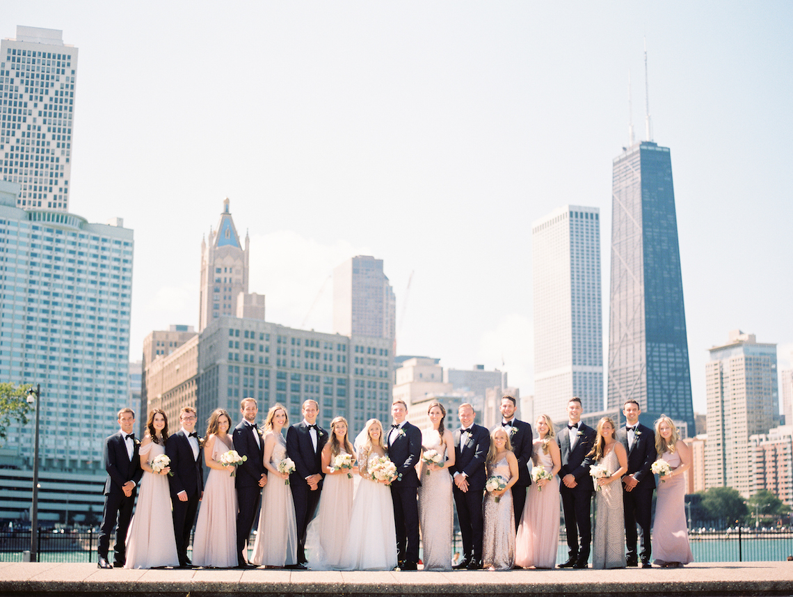 Gorgeous Chicago Ivy Room Wedding   Kristin La Voie Photography 5