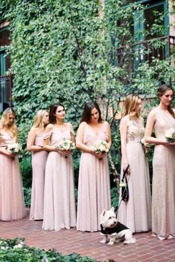 Gorgeous Chicago Ivy Room Wedding | Kristin La Voie Photography 59