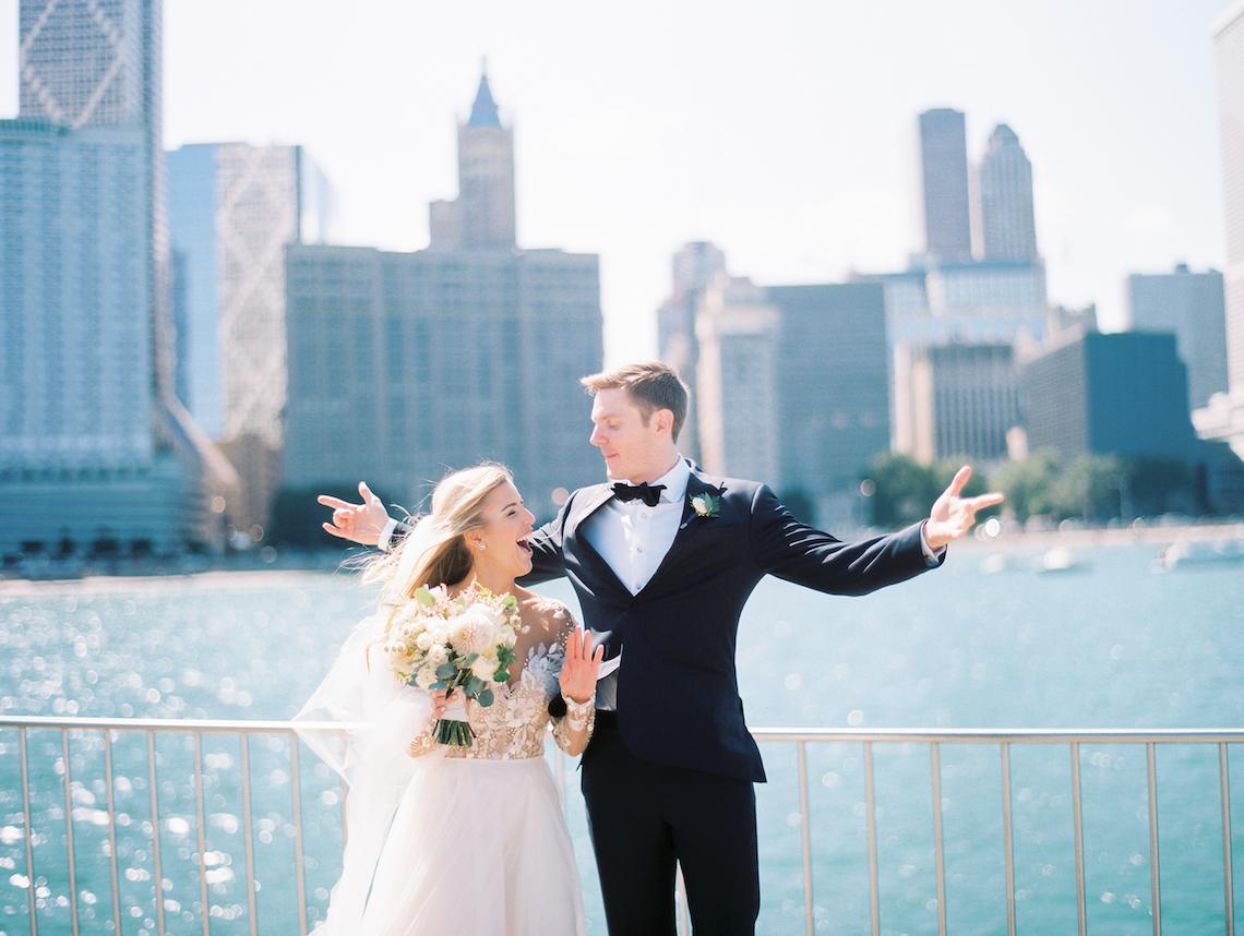 Gorgeous Chicago Ivy Room Wedding   Kristin La Voie Photography 7