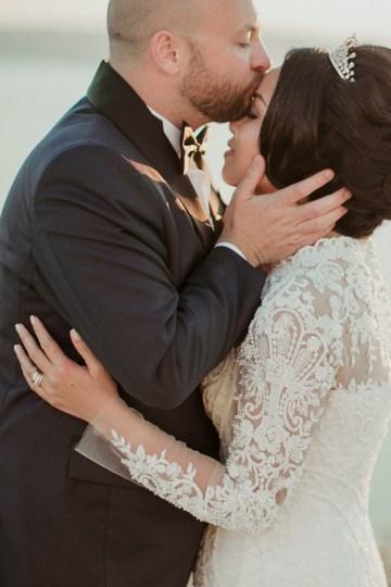Intimate & Luxurious Cliffside Santorini Wedding   Stella and Moscha   Nikos Gogas 19