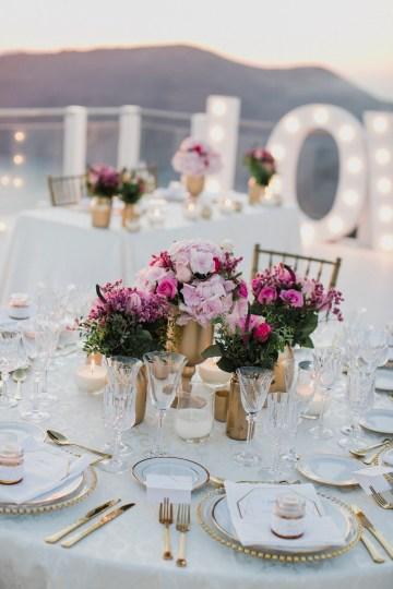 Intimate & Luxurious Cliffside Santorini Wedding   Stella and Moscha   Nikos Gogas 26
