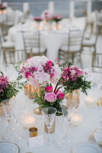 Intimate & Luxurious Cliffside Santorini Wedding   Stella and Moscha   Nikos Gogas 28