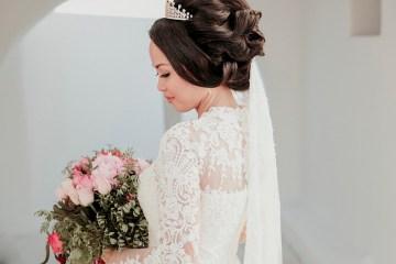 Intimate & Luxurious Cliffside Santorini Wedding   Stella and Moscha   Nikos Gogas 47
